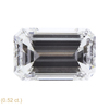 2.14 ct. Emerald Cut 3 Stone Ring, J, SI2 #3