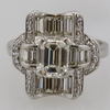 1.40 ct. Emerald Cut Right Hand Ring #1