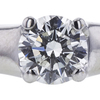 0.74 ct. Round Cut Solitaire Ring, H, SI2 #4