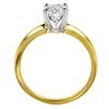 1.53 ct. Round Cut Bridal Set Ring, F, SI1 #3