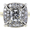 2.02 ct. Radiant Cut Solitaire Ring #4