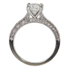 1.21 ct. Round Cut Bridal Set Ring, G, I1 #4