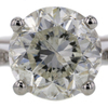 3.47 ct. Round Cut Solitaire Ring #2