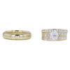1.01 ct. Oval Cut Bridal Set Ring, D, SI2 #4