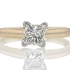 .83 ct. Princess Cut Solitaire Ring #1