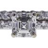 1.01 ct. Asscher Cut Solitaire Ring, H, VS1 #4