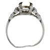 1.11 ct. Round Cut Solitaire Ring, J, VS1 #4