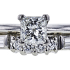 0.51 ct. Princess Cut Bridal Set Tiffany & Co. Ring, H, VVS2 #2
