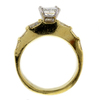 1.08 ct. Princess Cut Solitaire Ring #4