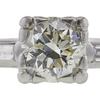 1.04 ct. Round Cut 3 Stone Ring, L, VVS2 #4