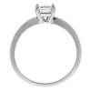 0.76 ct. Princess Cut Solitaire Ring, H, VS2 #4