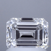 1.56 ct. Emerald Cut Solitaire Ring, F, VS1 #1