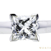1.12 ct. Princess Cut Solitaire Ring, I, VVS2 #4