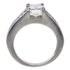 2.01 ct. Emerald Cut Solitaire Ring, H, SI1 #4