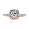 0.70 ct. Round Cut Solitaire Ring, F, VVS2 #2