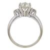 1.0 ct. Round Cut Bridal Set Ring, K, SI2 #4