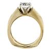 1.08 ct. Round Cut Bridal Set Ring #2
