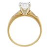 1.13 ct. Round Cut Solitaire Ring, F, VS1 #3