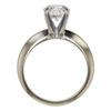 1.03 ct. Round Cut Solitaire Ring, H, SI2 #4