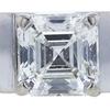 0.85 ct. Square Emerald Cut Solitaire Ring, I, VS2 #4