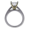 1.12 ct. Princess Cut Solitaire Ring, F-G, I1 #3
