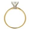 1.01 ct. Round Cut Bridal Set Ring, F, I1 #4