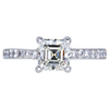 1.06 ct. Asscher Cut Solitaire Ring, J, VVS2 #3