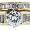0.70 ct. Round Cut Bridal Set Ring, H, SI1 #4