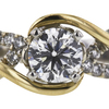 0.93 ct. Round Cut Solitaire Ring, G, SI2 #4
