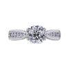 1.38 ct. Cushion Cut Solitaire Ring, H, I1 #3