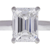 1.8 ct. Emerald Cut Solitaire Ring, F, VVS1 #4