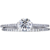 1.00 ct. Round Cut Bridal Set Ring, I, VS2 #3