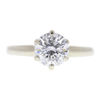 1.52 ct. Round Cut Solitaire Ring, D, I1 #3