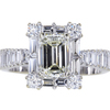 1.54 ct. Emerald Cut Solitaire Ring #1