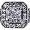 1.01 ct. Cushion Cut Halo Ring, E, SI2 #4
