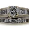 1.54 ct. Round Cut Bridal Set Ring #1