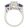 2.01 ct. Round Cut 3 Stone Ring, I, SI2 #4