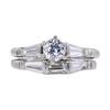 0.53 ct. Round Cut Bridal Set Ring, H-I, VS1-VS2 #2