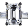 2.47 ct. Emerald Cut Solitaire Ring, E, SI1 #4