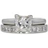 1.51 ct. Princess Cut Bridal Set Ring, I, SI2 #3