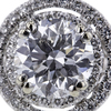 3.03 ct. Round Cut Halo Ring #4