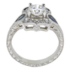0.72 ct. Round Cut Solitaire Ring, H-I, SI1-SI2 #3