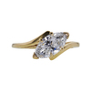 1.45 ct. Marquise Cut Solitaire Ring, H-I, I1 #1