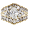 1.03 ct. Marquise Cut Solitaire Ring, H, I1 #3