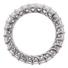 Round Cut Eternity Band Ring, G-H, SI1-SI2 #4