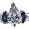 1.08 ct. Pear Cut Bridal Set Ring, G, SI2 #1