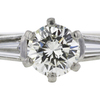 0.62 ct. Round Cut Bridal Set Ring, I, SI1 #4