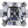 0.77 ct. Asscher Cut Solitaire Tiffany & Co. Ring, E, VVS1 #1