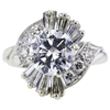 1.75 ct. Round Cut Central Cluster Ring #4