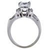 2.15 ct. Emerald Cut Bridal Set Ring, F, VS2 #3